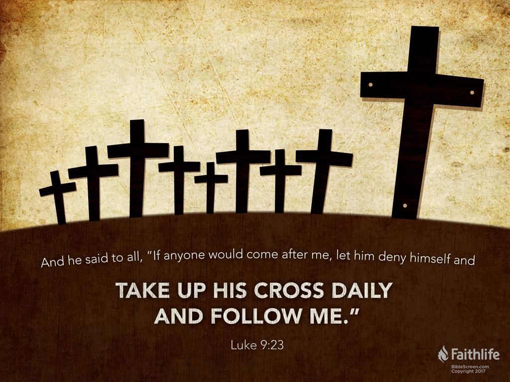 Image result for luke 9:23 | Bible verse for today, Bible ...