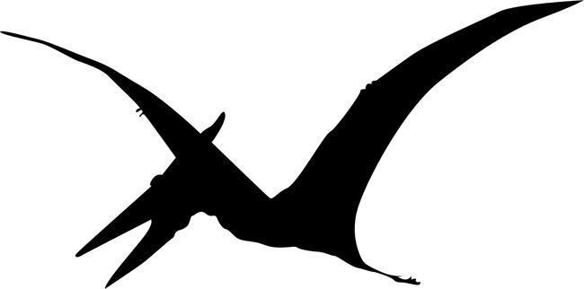 Pterodactyl Dinosaur Stencil by Crafty Stencils (With ...