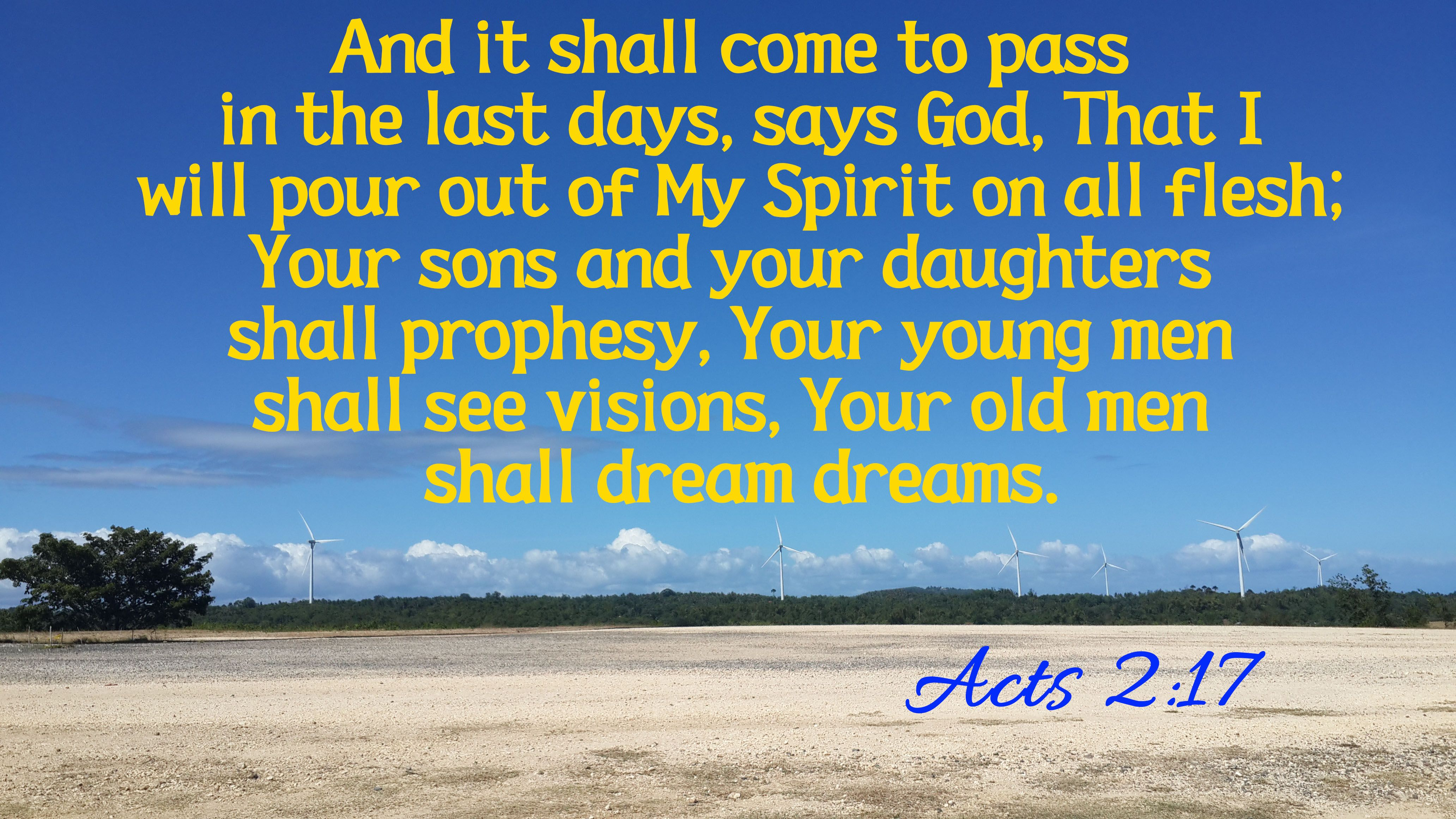 Acts 2:17   Memory verse, Acting, Children's ministry