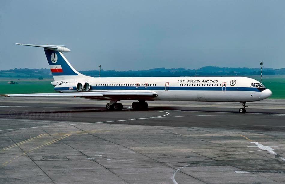 LOT Polish Airlines Ilyushin IL-62 SP-LAD Shannon July ...