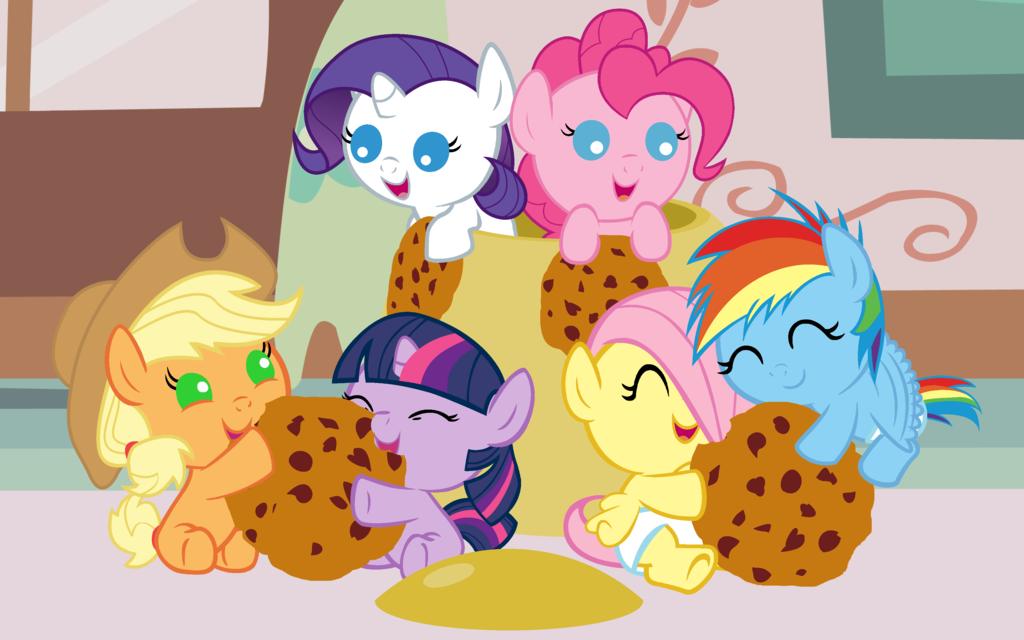 Cookie Jar Raid by Beavernator on deviantART   My little pony pictures, Baby pony, My little ...
