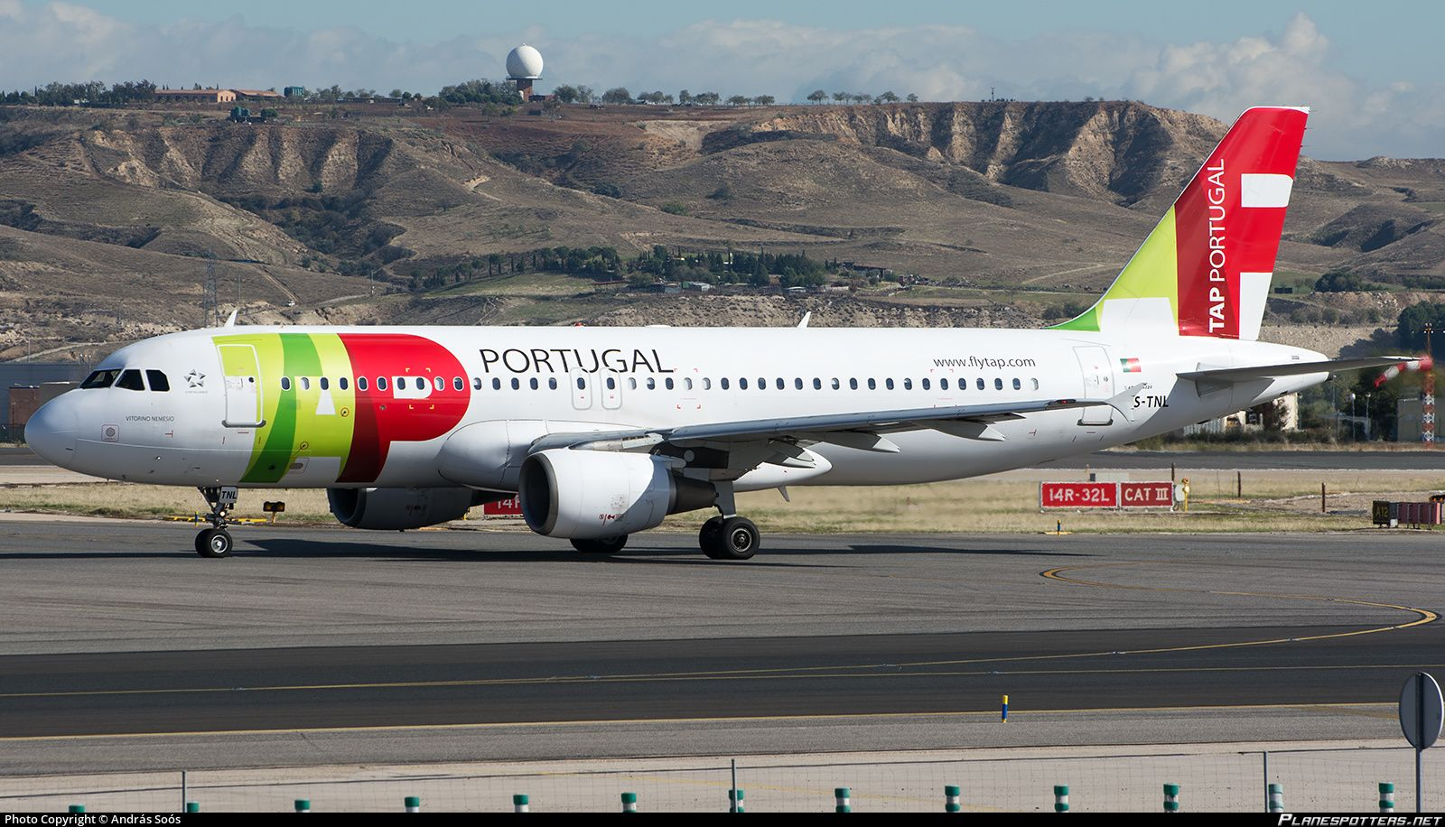 CS-TNL TAP - Air Portugal Airbus A320-214 | Portugal ...