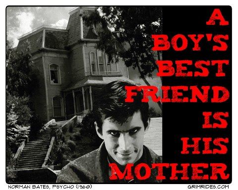 A Boy's Best Friend Is His Mother. Psycho   Classic horror ...