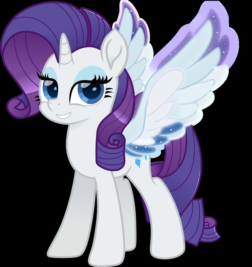 Rarity Rainbow Wing by N0KKUN on DeviantArt   My little pony wallpaper, My little pony rarity ...