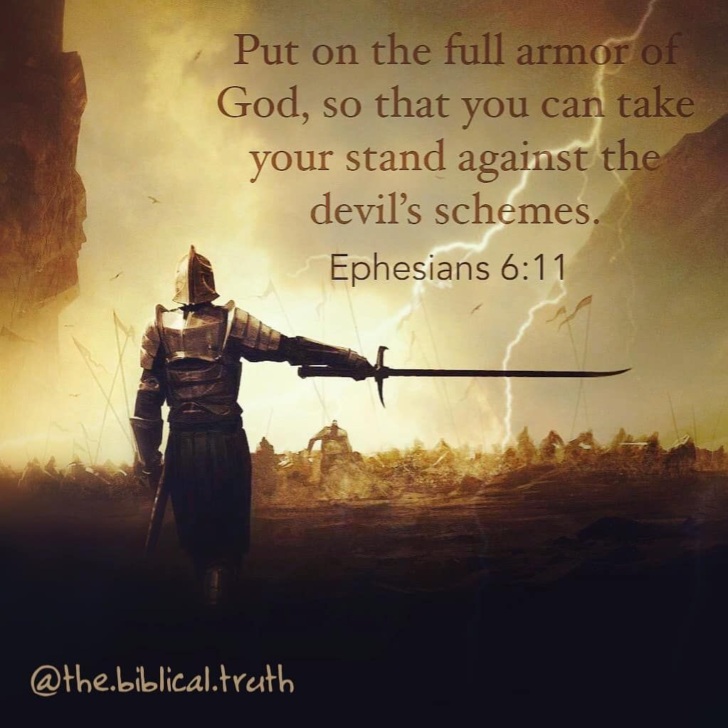 "The Word of God on Instagram: ""Ephesians 6:11 #Matthew # ..."