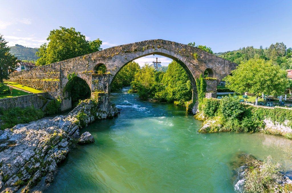 Puente Romano de Cangas de Onís. Asturias. Los 10 puentes ...