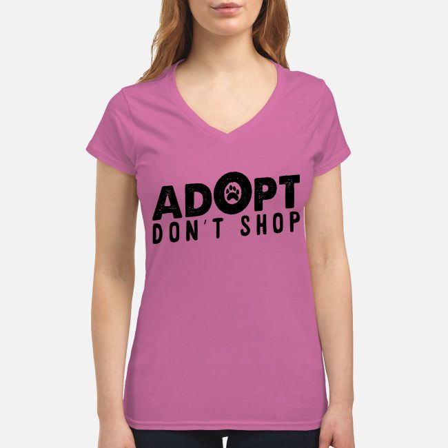 ADOPT DON'T SHOP T-SHIRT DOG LOVERS GIFT   Dog lover gifts ...