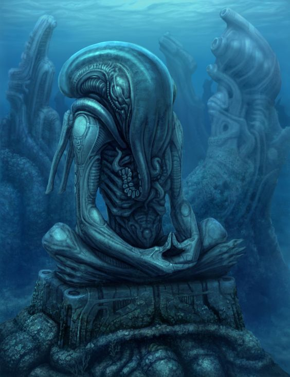 Pin by Austin on Monsters   Cthulhu art, Lovecraftian ...