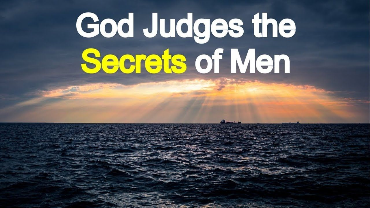 Coming Judgment of the Secrets of Men - Charles Spurgeon Sermon | Charles spurgeon, Sermon, Spurgeon