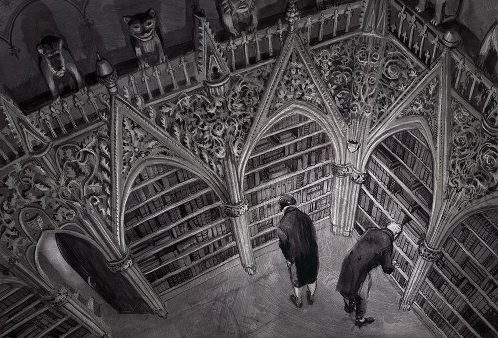 Concept art by Jim Kay for Jonathan Strange and Mr Norrell ...