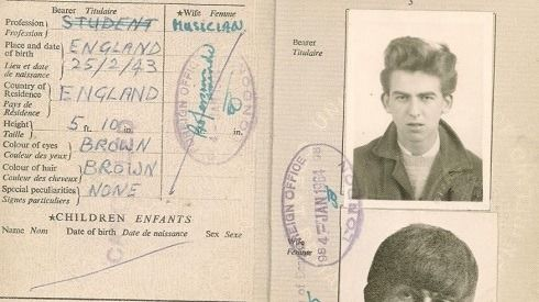 Today in 1960 17-year-old George Harrison was deported ...