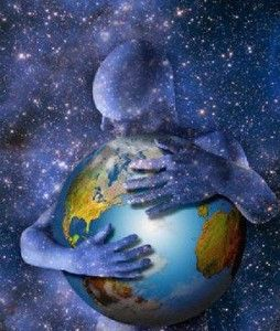 Hugging the world | Art, Mother earth, Visionary art