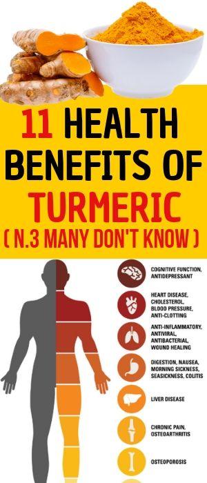 11 Health Benefits of Turmeric | Turmeric benefits ...