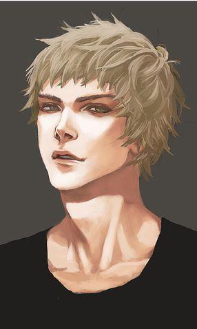 Blond hair portraits (male) - Minus | Portrait, Fantasy ...
