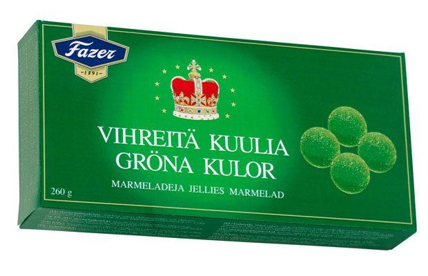 Fazer Vihreät Kuulat Finland