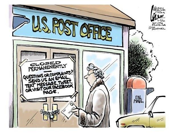 The viral post office | Viral post, Post office, Postal police