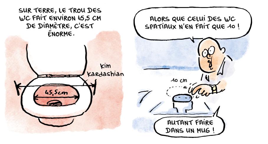 Dans la combi de Thomas Pesquet - Marion Montaigne ...