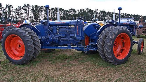 Another FORDSON Twin-Motor Tractor, but this one's just a ...