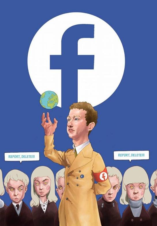 Mark Zuckerberg=Hitler??? Think about it : im14andthisisdeep