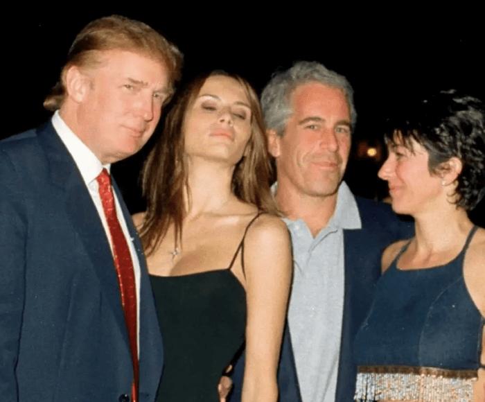 Trump with Epstein