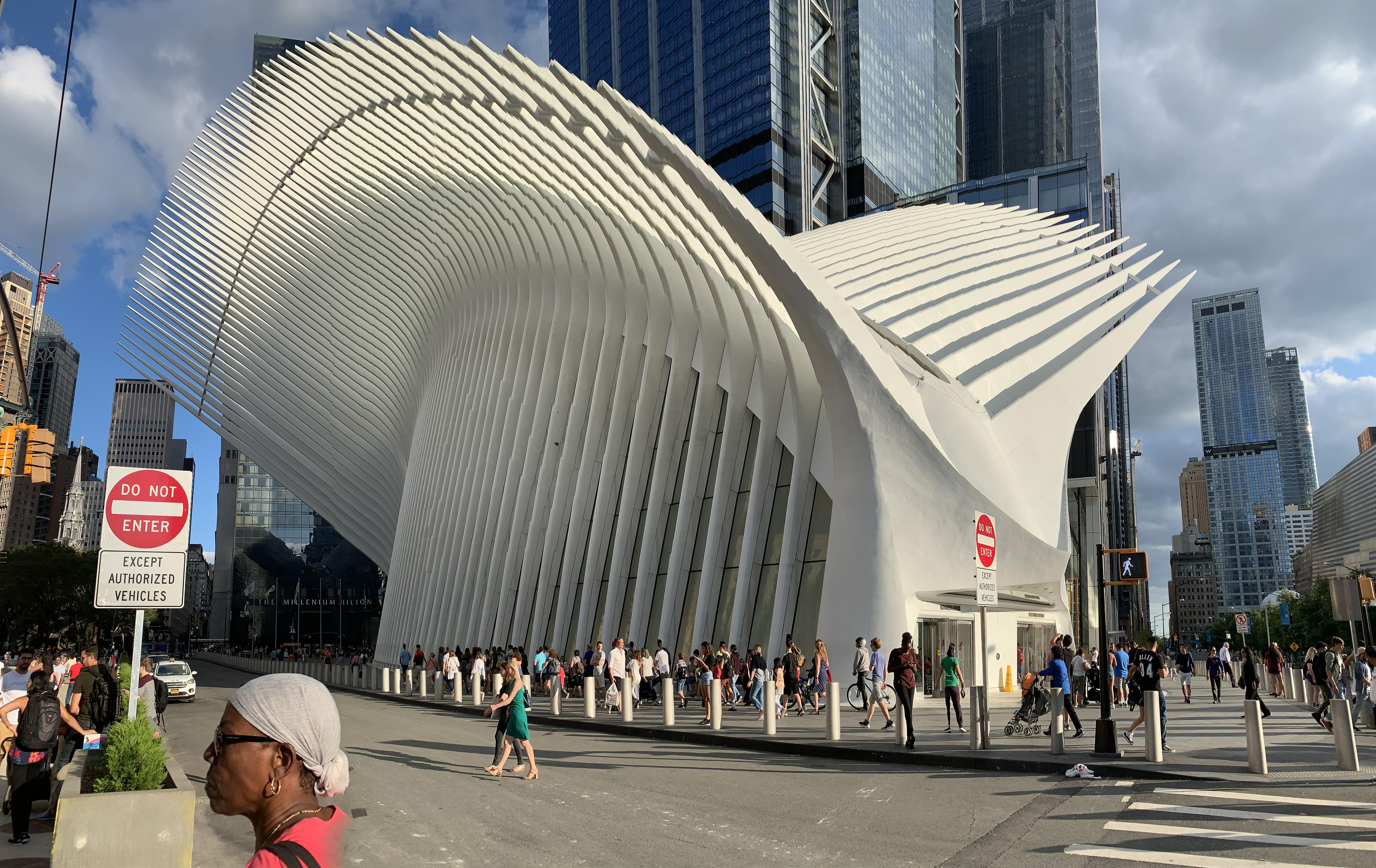 The World Trade Center: The Oculus - Exterior (August 2019 ...