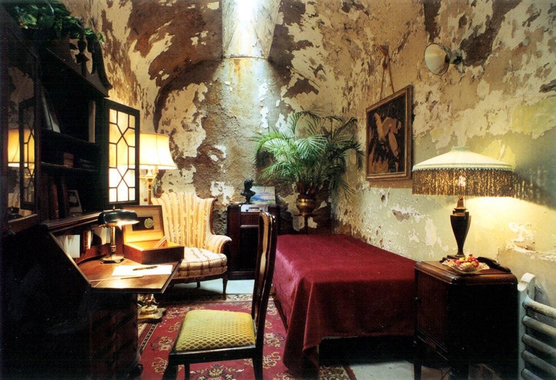 Al Capone's prison cell : malelivingspace
