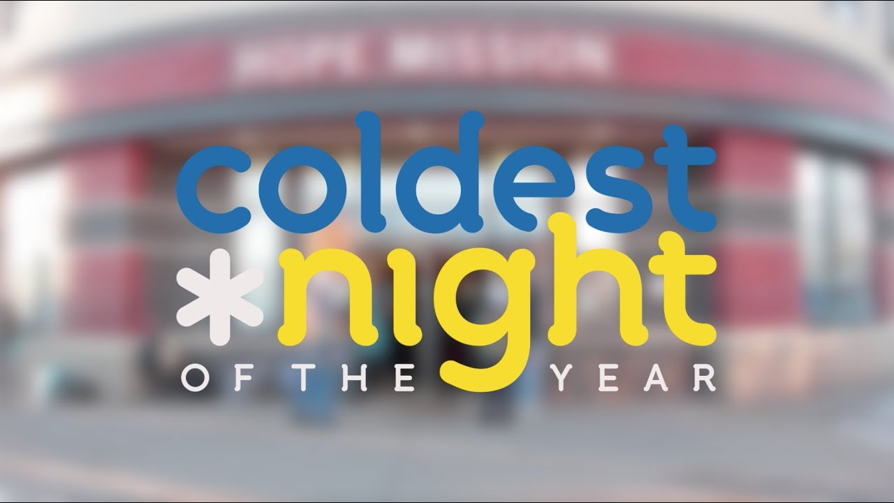 Coldest Night of the Year 2015 - YouTube