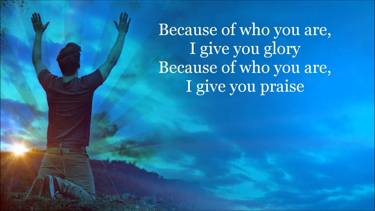 Because of Who you Are Lyrics HD Video By Vicki Yohe - YouTube