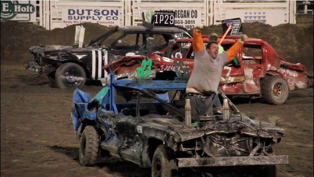Delta Demolition Derby Main Event 2015 - YouTube