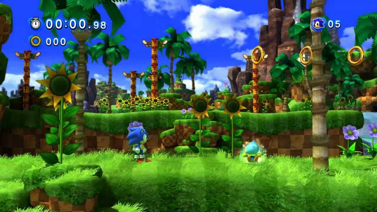 Sonic Generations (PC) Walkthrough Part 1 - Gameplay ...
