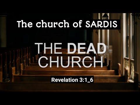 """The Dead Church Of Sardis"" Revelation 3:1_6 - YouTube"