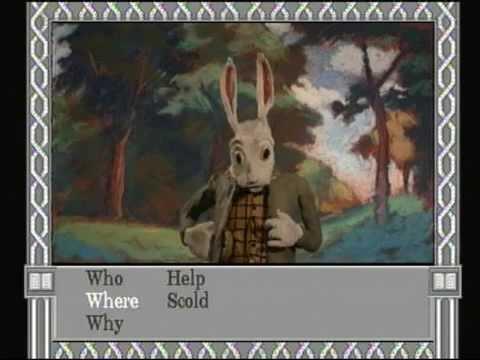Alice In Wonderland Philips CD-I Game Play Through 1 - YouTube