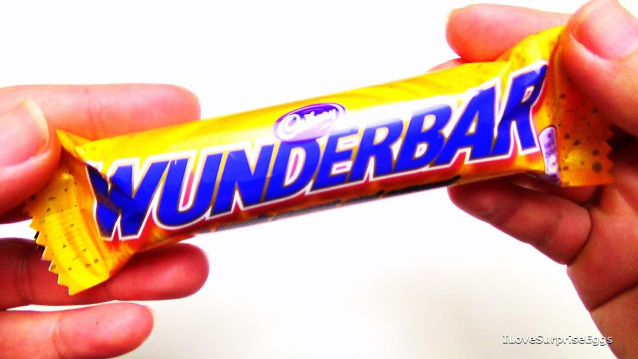 Cadbury - Wunderbar - Chocolate [Taste & Review] [United ...