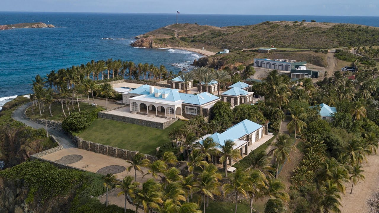 FBI raids Epstein's home in U.S. Virgin Islands - YouTube