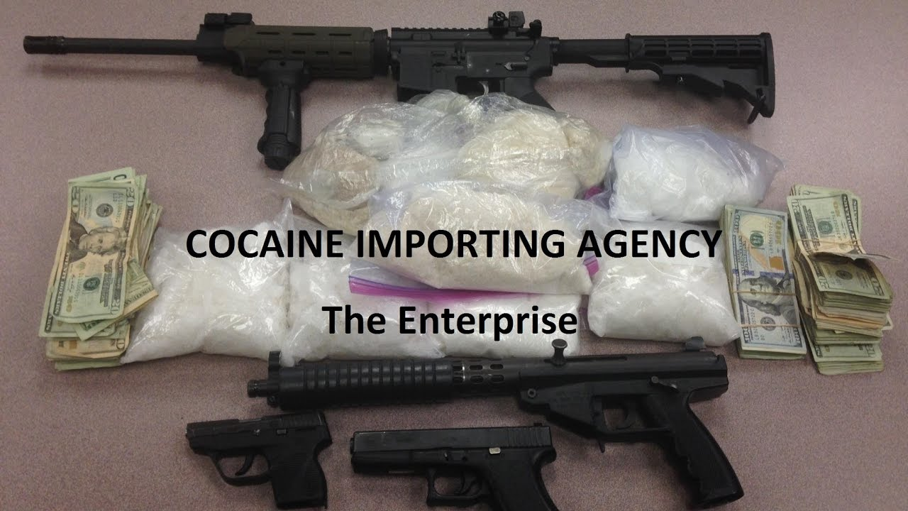 COCAINE IMPORTING AGENCY (CIA) - The Enterprise - YouTube