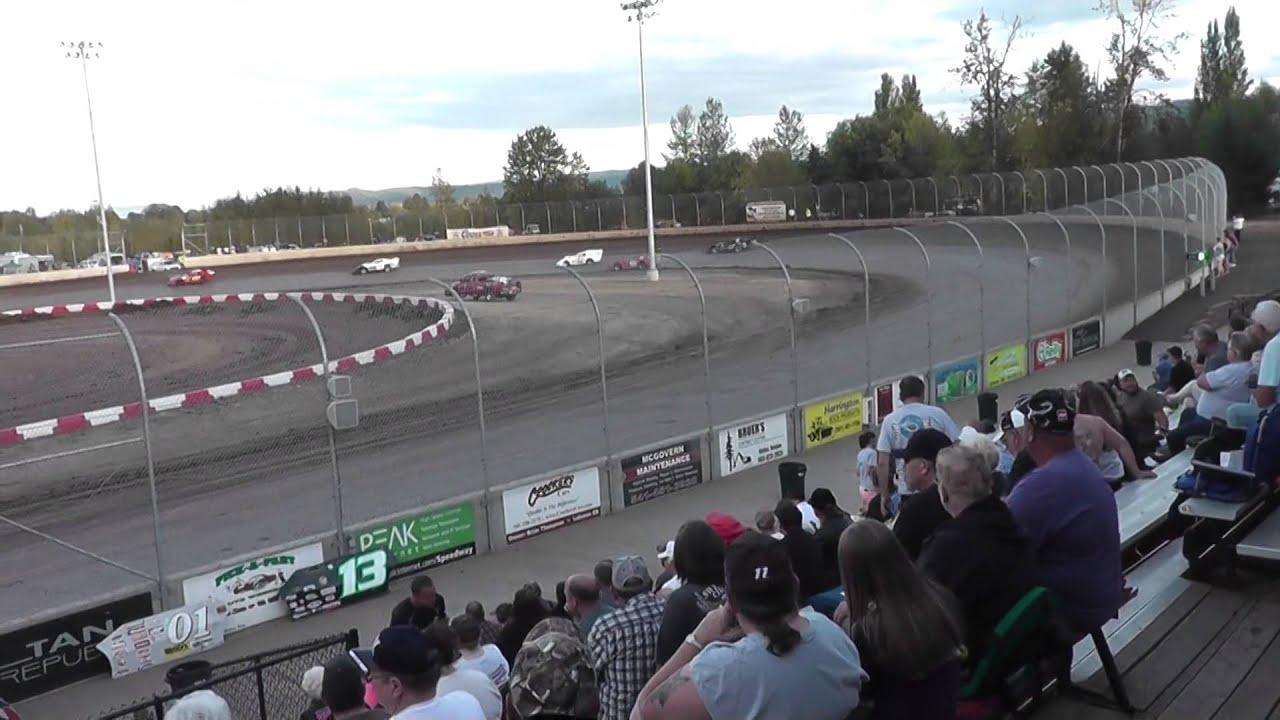 Super sport heat race #1 on 8/31/2014 at Willamette speedway - YouTube