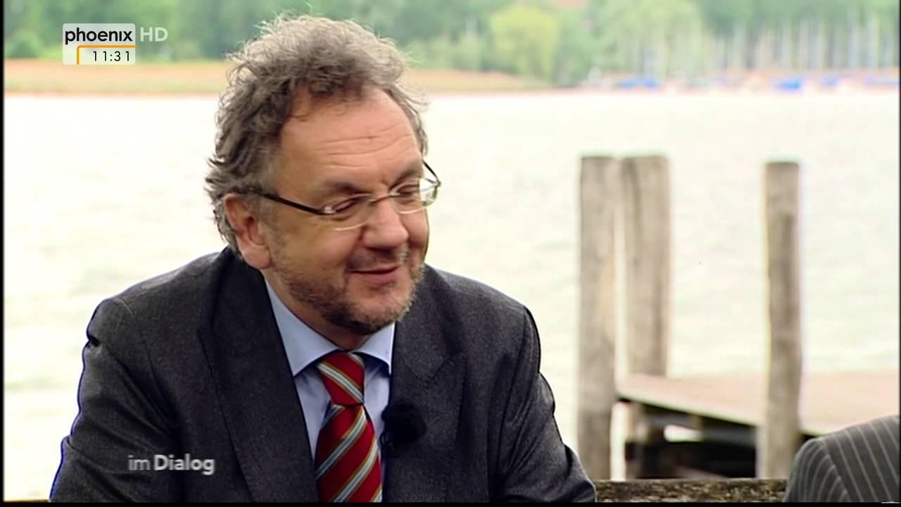 Dialog: Heribert Prantl im Dialog mit Alfred Schier am 01 ...