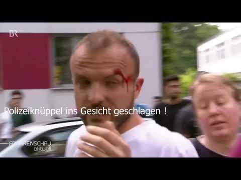 Polizeigewalt - Brutaler Polizeieinsatz in Nürnberg bei ...