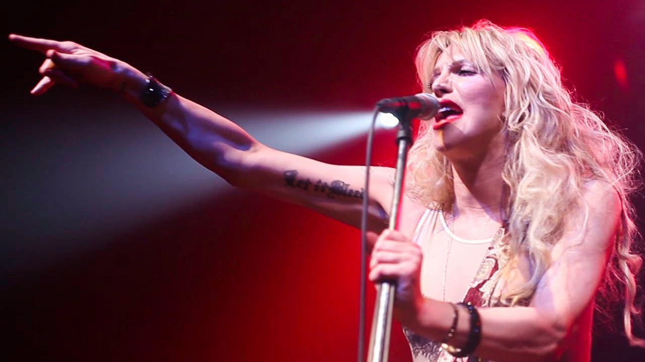 Courtney Love - Miss Narcissist Live at Ventura Theater ...