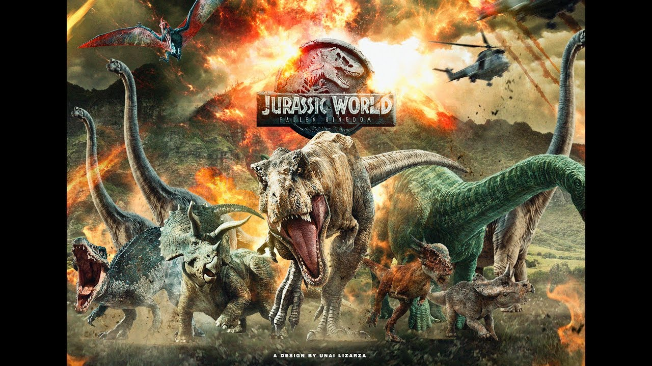 JURASSIC WORLD: FALLEN KINGDOM poster 2 (Speed Art) by ...