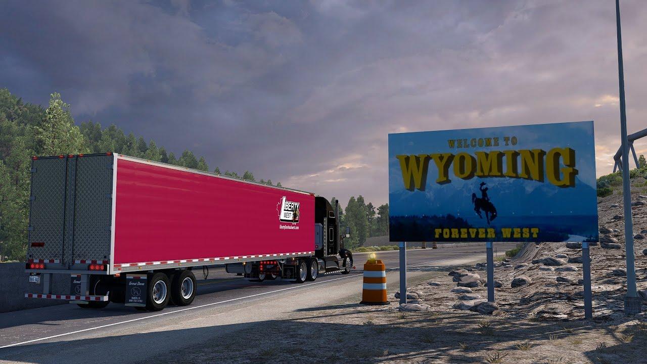 American Truck Simulator: Baggs - Wyoming [Open Beta 1.40] - YouTube