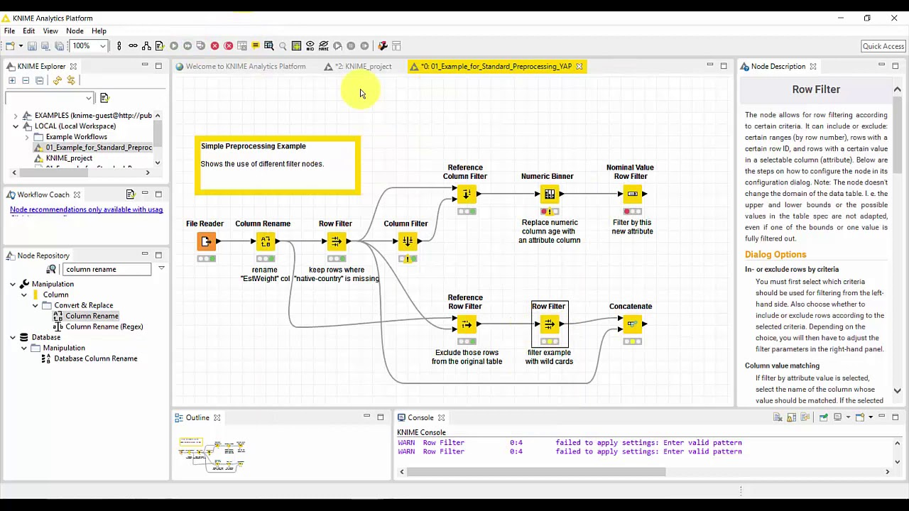 Data Preparation using KNIME - YouTube