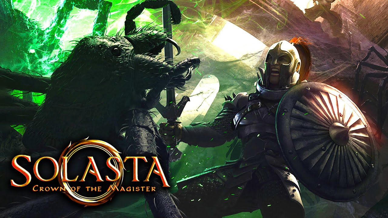 Solasta: Crown of the Magister - 19 Minutes Gameplay Demo (4K 60FPS) - YouTube