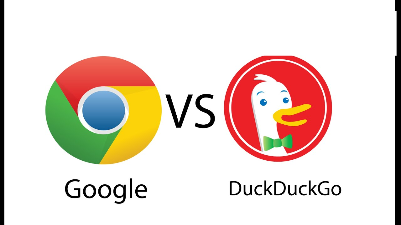 Google.com vs DuckDuckGo.com - YouTube
