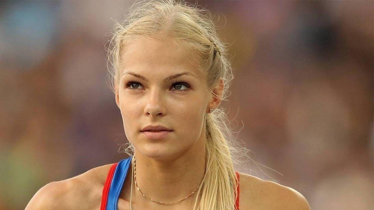 Darya Klishina - The Most Beautiful Long Jumper - YouTube