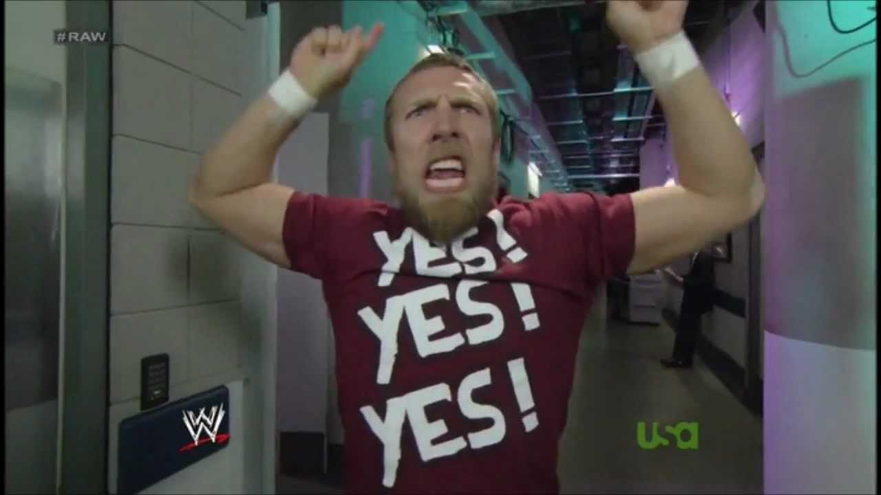 Daniel Bryan: YES! YES! YES! - YouTube