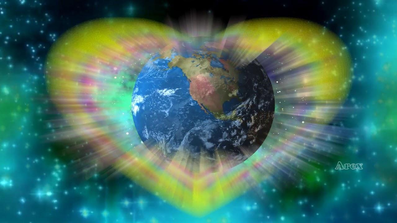 Global love intention (meditation) Alpha binaural beats ...