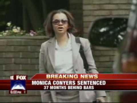 Ex-Detroit Councilwoman Monica Conyers Gets 37 Months in Prison - YouTube