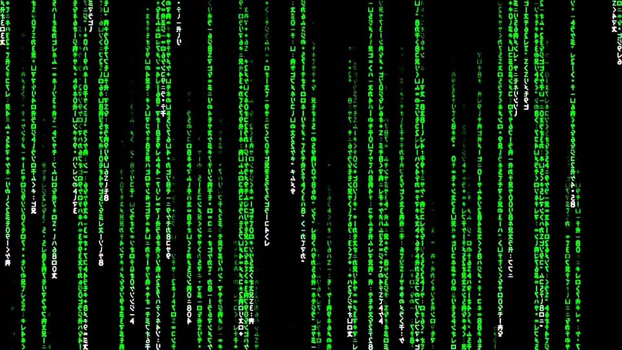 (1 HOUR) The Matrix Green Code - YouTube