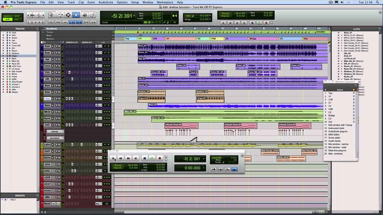 Pro Tools programa profissional de edição de áudio e podcasts